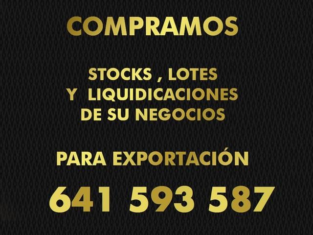 COMPRO STOCK,  LOTES,  LIQUIDACIONES - foto 1
