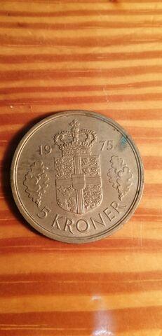 5 Kroner 1975