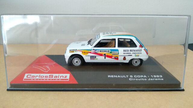 Renault 5 Copa - Sainz - Jarama 1983