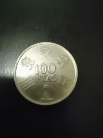 100 Pesetas De 1980