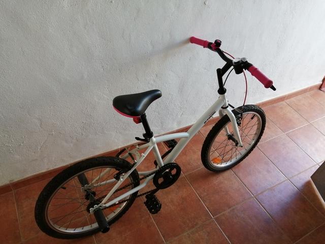 Bicicleta De Niña En Perfecto Estado