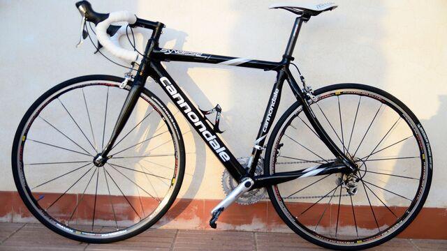 Bici Carbono Cannondale Talla 53 Media
