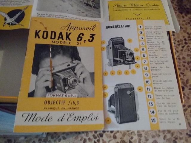 CÁMARA COMPACTA CON FUELLE KODAK - foto 1