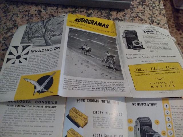 CÁMARA COMPACTA CON FUELLE KODAK - foto 5