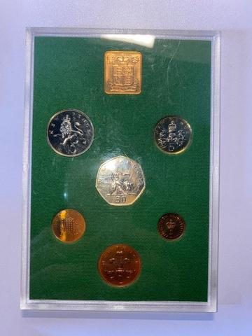 Monedas Inglaterra Elizabeth 1975