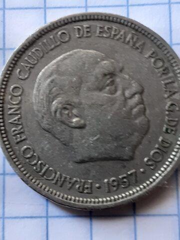 4 Monedas De Franco Del Año 1957