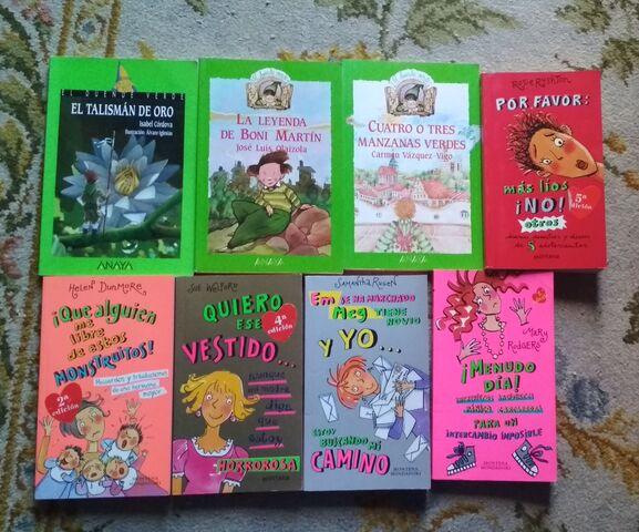 LIBROS INFANTILES Y JUVENILES A 2   LA U - foto 7