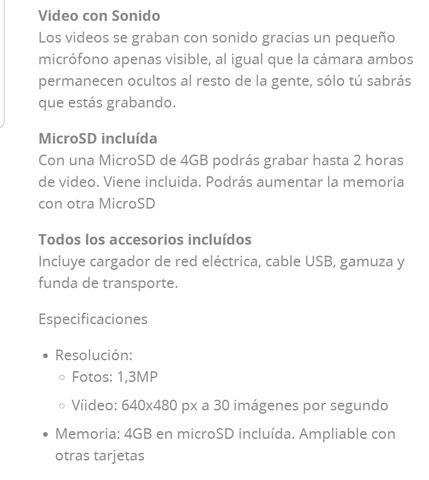 GAFAS UNOTEC CON MP3,  4GB - foto 2