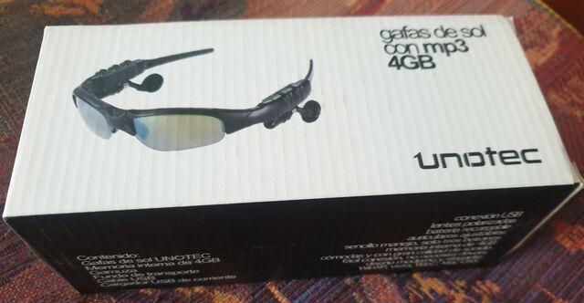 GAFAS UNOTEC CON MP3,  4GB - foto 5