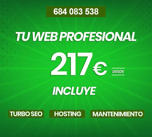 DESARROLLO WEB PROFESIONAL DESDE 217 .  - foto 1