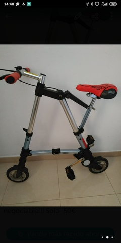 Bicicleta Mini Plegable Adulto