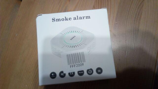 Detector Alarma De Humos