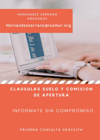CLAUSULAS SUELO Y COMISION DE APERTURA - foto 2