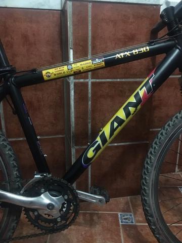 Bicicleta Giant Modelo Limitado