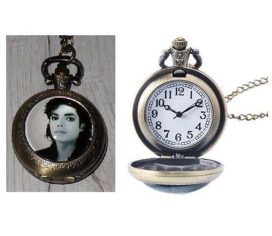 Reloj Bolsillo Michael Jackson (Model 11