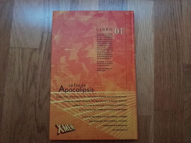 LIBRO/COMIC DE LOS X-MEN:  LA ERA DE APOC - foto 2