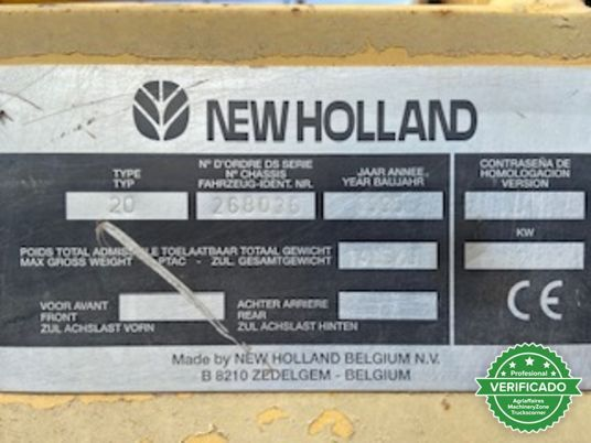 NEW HOLLAND NEW HOLLAND TX 6. 20 - foto 4