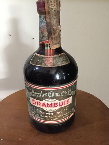 Botella Antigua Drambuie