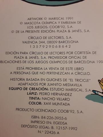 DOS COMIC DE MARISCAL -THE COBI TROUPE.  - foto 4