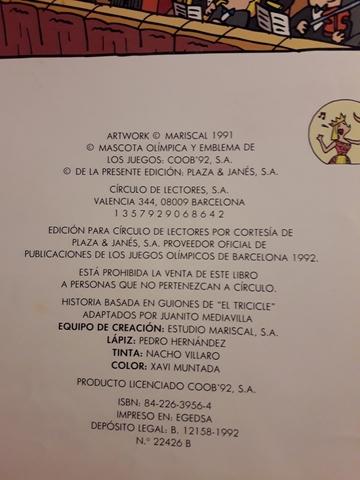 DOS COMIC DE MARISCAL -THE COBI TROUPE.  - foto 6