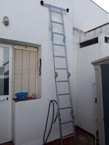 Escalera Aluminio Multiusos