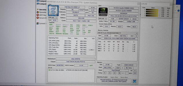 DELL 7710 I7 6820HQ 32RAM NVIDIA NVME 17 - foto 8