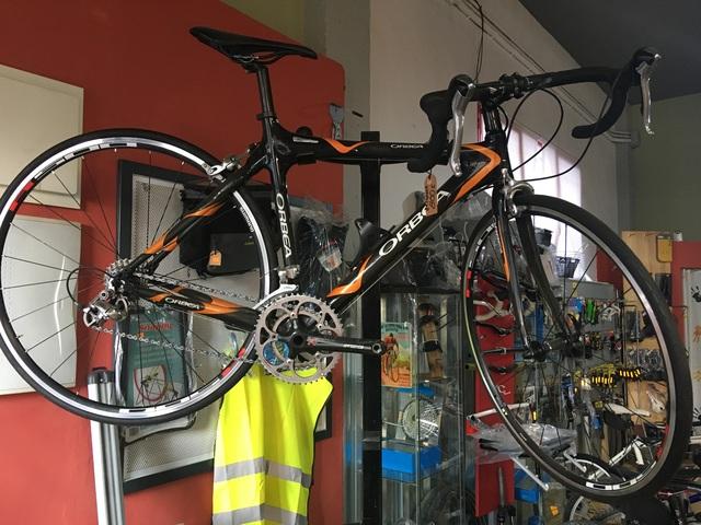 Bici Carretera Carbono Ónix