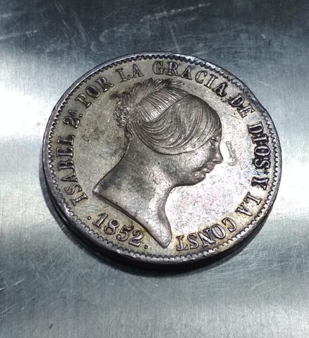 10 Reales De Isabel 2
