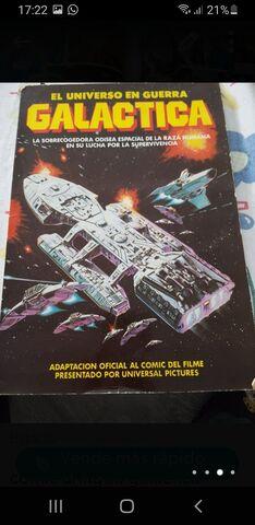 Comic        Galactica Vintage