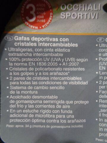 GAFAS DEPORTIVAS - foto 4