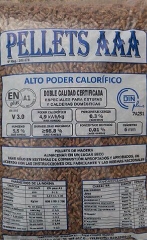 PELLETS A1 EN COMARCA DE ASÓN - AGÜERA - foto 2