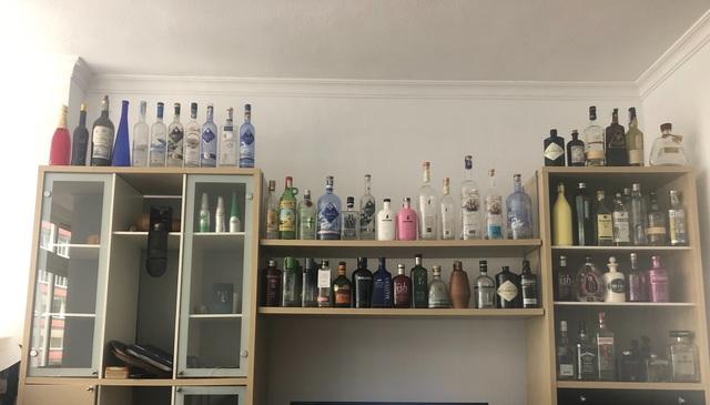 Colección De Botellas De Ginebra Y Otras