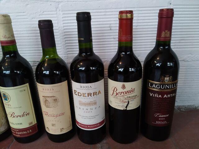 Botellas De Vino Colección