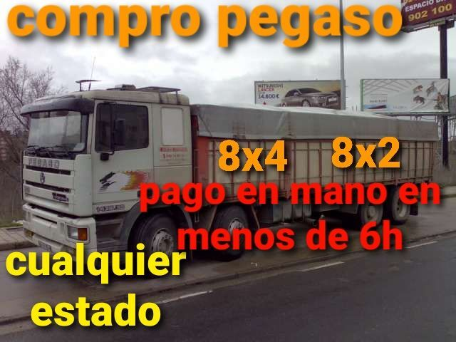 COMPRO PEGASO 4 EJES BASCULANTE RENAULT - foto 1