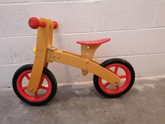 Bicicleta De Madera