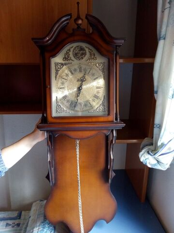 Reloj Antiguo Pared Tempus Fugit