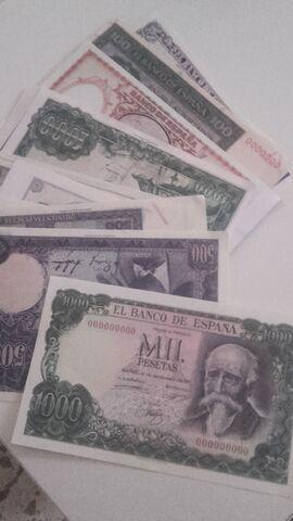 Replica De Billetes Españoles
