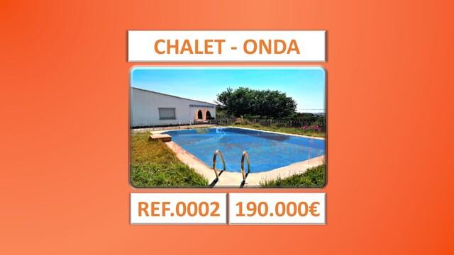 CHALET - CASA DE CAMPO - ONDA - REF. 0002 - foto 1