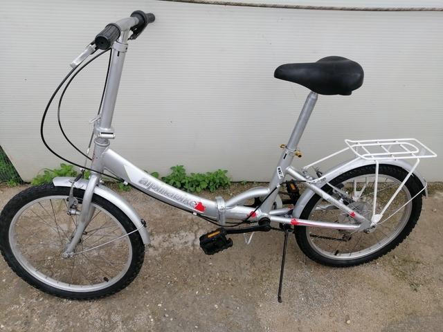 Bici I Plegable Aluminio