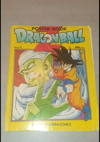 Poster Book Dragon Ball