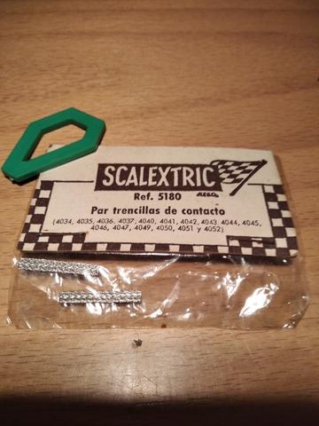 Trencillas/Escobillas Scalextric Años 70