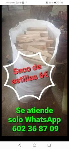 SACO DE ASTILLAS - foto 1