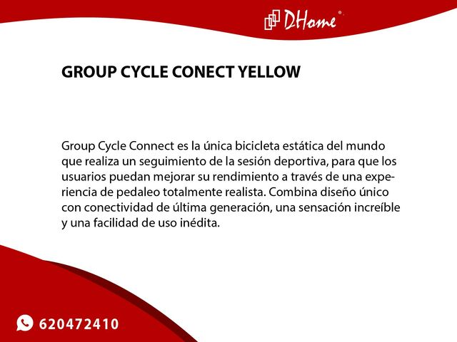 GROUP CYCLE CONECT YELLOW - foto 3