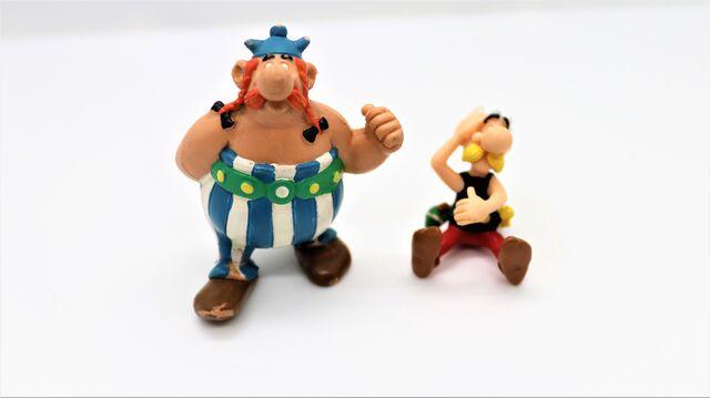 Figura Asterix Obelix Pvc