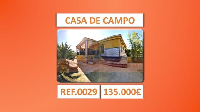 CHALET - CASA DE CAMPO - ONDA - REF. 0029 - foto 1