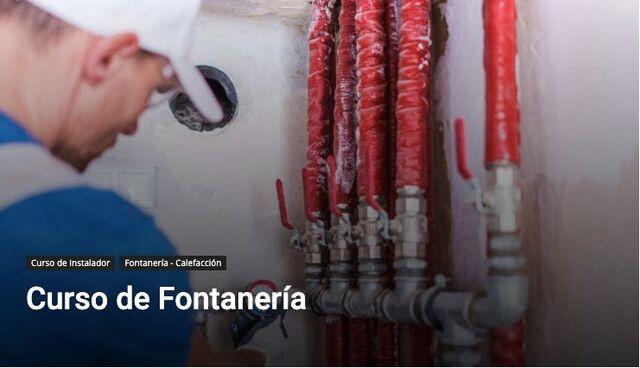 CURSO DE FONTANERÍA - foto 1