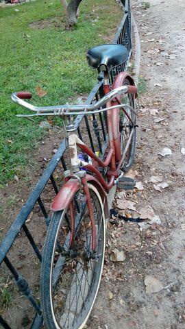 Bici Vieja  Freno De Varillas Mujer Barr