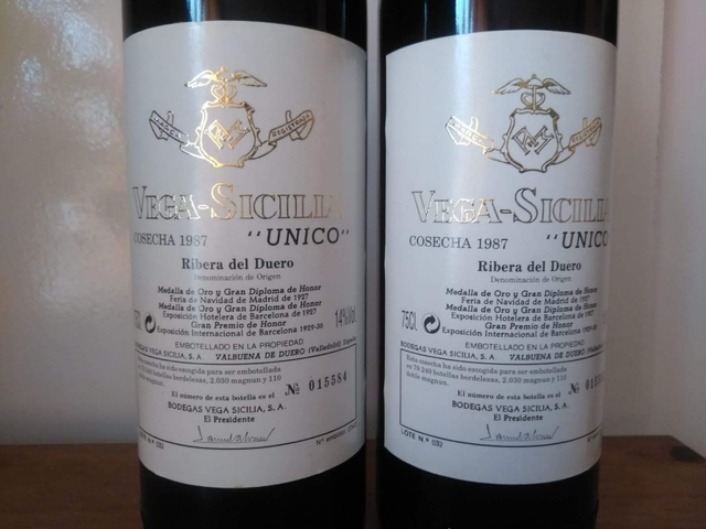 Vega Sicilia Gran Reserva Unico