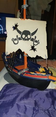 Barco Pirata De Playmovil.