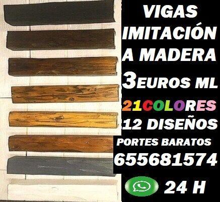 Vigas Imitación Madera Madrid 655681574
